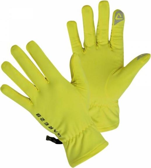 Technické rukavice Dare2B DUG005 Smart Glove II Fluro Yellow Barva: Žlutá, Velikost: M_L