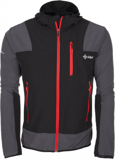 Pánská technická bunda KILPI JOSHUA černá Barva: Černá, Velikost: XXL