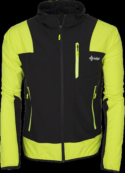 Pánská technická bunda KILPI JOSHUA zelená Barva: Zelená, Velikost: 3XL