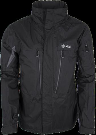 Pánská technická bunda KILPI MUHAMAD Černá Barva: Černá, Velikost: M