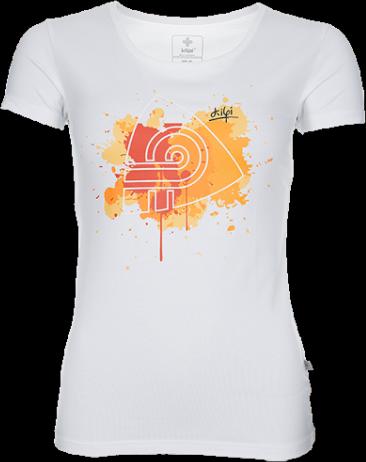 Dámské tričko KILPI MURRAYA Bílá Barva: Bílá, Velikost: 46