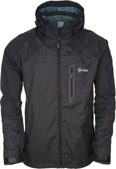 Pánská technická bunda KILPI OSVALDO černá Barva: Černá, Velikost: S