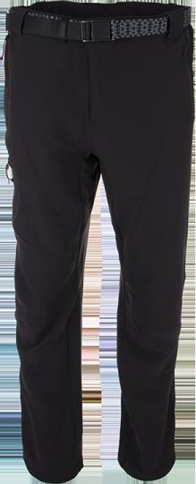 Pánské technické kalhoty KILPI UBALDO černá Barva: Černá, Velikost: XXL