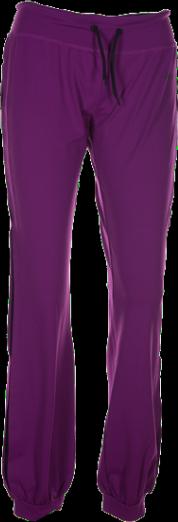 Dámské sportovní kalhoty KILPI ENTERPRISE II. Fialová Barva: Fialová, Velikost: 46