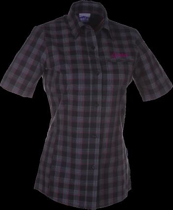 Dámská košile KILPI XIROLA I.Černá Barva: Černá, Velikost: 36