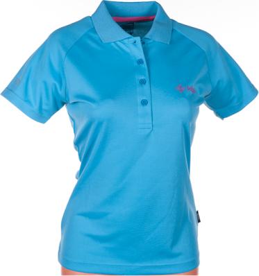 Dámské funkční POLO tričko KILPI MEDICINE VI. Modrá Barva: Modrá, Velikost: 38