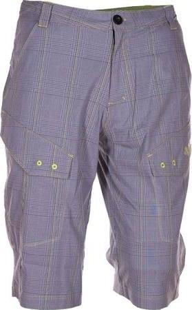 Pánské šortky KILPI LORDON šedo/zelené Barva: Šedá, Velikost: S