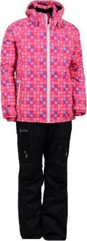 Dívčí lyžařský set KILPI HILMA SKI SET-JG Růžová Barva: Růžová, Velikost: 170