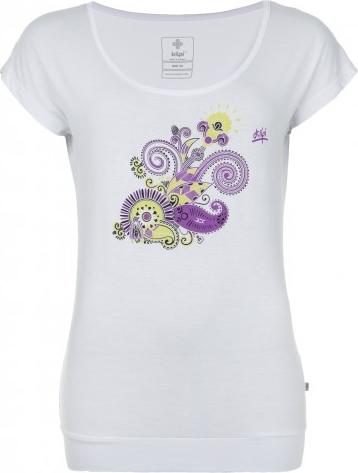 Dámské tričko KILPI LINDA bílá Barva: Bílá, Velikost: 46