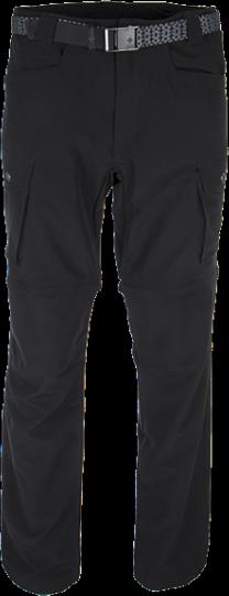 Pánské technické kalhoty KILPI FRANCOIS černá Barva: Černá, Velikost: S