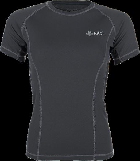 Dámské technické tričko KILPI DILLETA Černá Barva: Černá, Velikost: 40