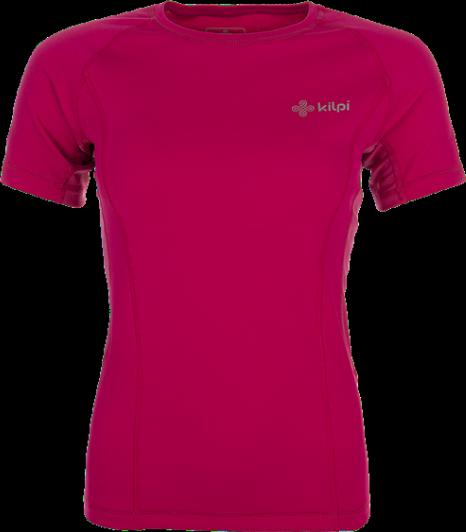 Dámské technické tričko KILPI DILLETA Růžová Barva: Růžová, Velikost: 46