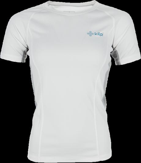 Dámské technické tričko KILPI DILLETA Bílá Barva: Bílá, Velikost: 46