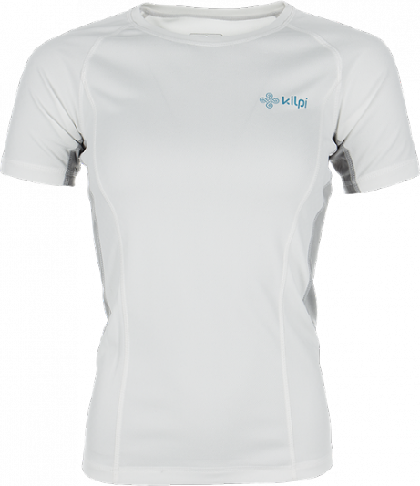Dámské technické tričko KILPI DILLETA Bílá Barva: Bílá, Velikost: 40