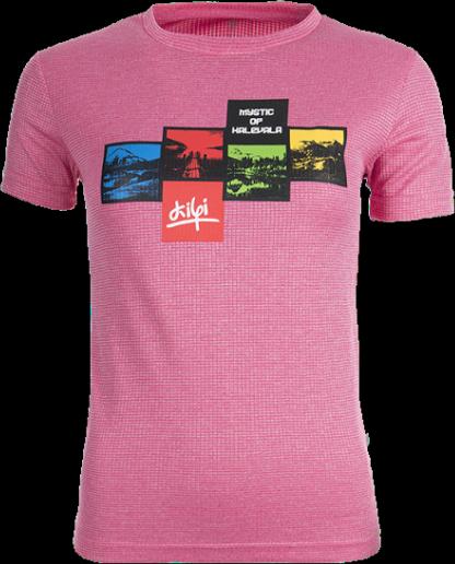 Dámské technické tričko KILPI SANDORA Růžová Barva: Růžová, Velikost: 46