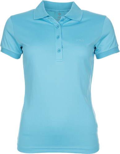 Dámské technické POLO tričko KILPI BIBIANA Modrá Barva: Modrá, Velikost: 38
