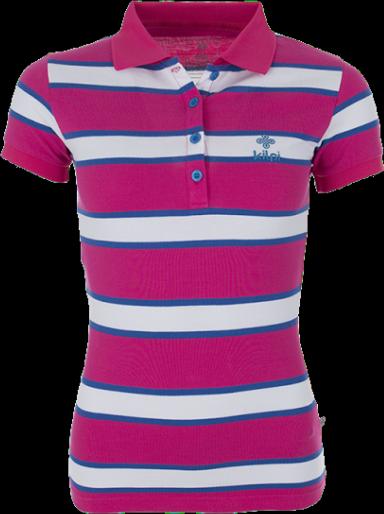 Dámské POLO tričko KILPI AGAPE Růžová Barva: Růžová, Velikost: 40