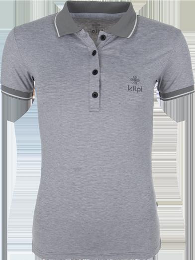 Dámské POLO tričko KILPI EFF Černá Barva: Černá, Velikost: 34