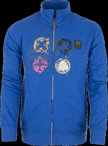 Pánská mikina KILPI MAX Modrá Barva: Modrá, Velikost: M