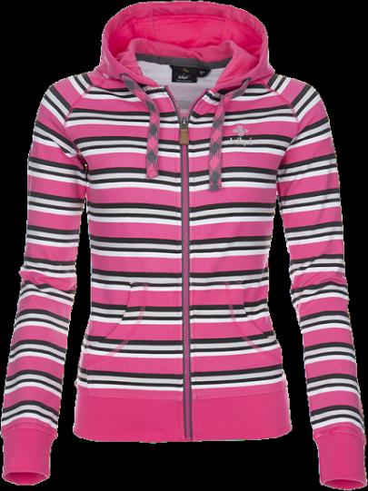 Dámská mikina KILPI NAME Růžová Barva: Růžová, Velikost: 34