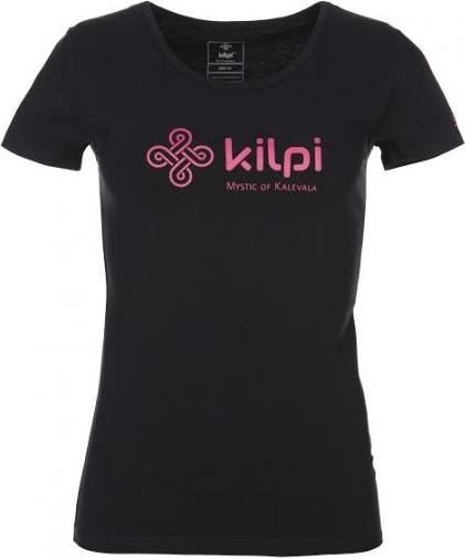 Dámské tričko KILPI ADRIENA Černá Barva: Černá, Velikost: 34