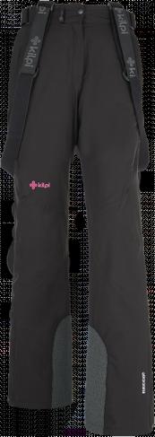 Dámské lyžařské kalhoty KILPI ISABELLE Černá Barva: Černá, Velikost: 44