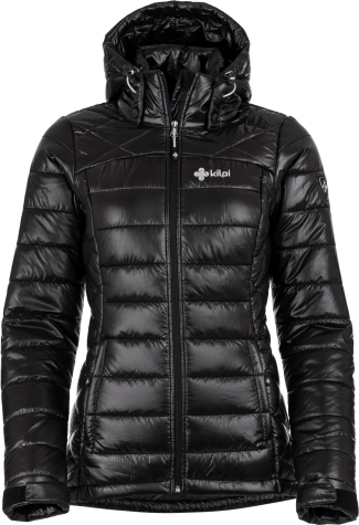 Dámská zimní bunda KILPI GIRONA-W Černá Barva: Černá, Velikost: 34