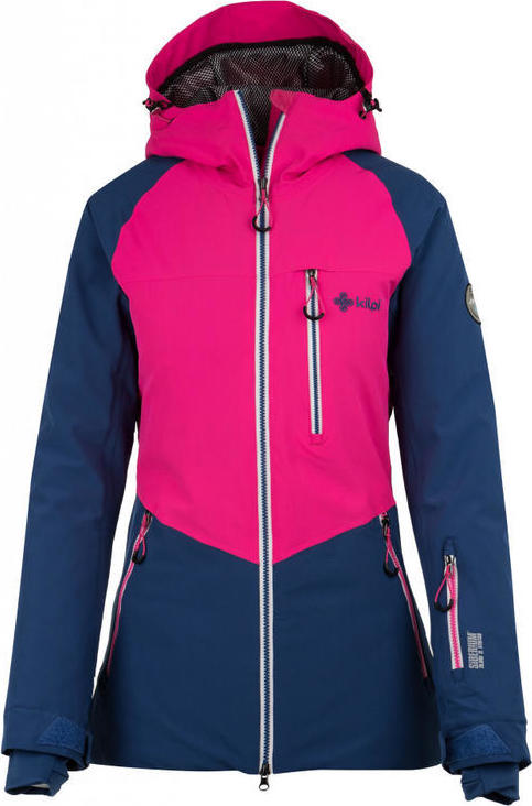 Dámská lyžařská bunda KILPI MONTANA-W Tmavě modrá Barva: Modrá, Velikost: 42