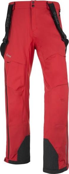Pánské zimní kalhoty KILPI LAZZARO červené Barva: Červená, Velikost: L