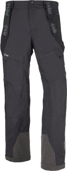 Pánské zimní kalhoty KILPI LAZZARO černé Barva: Černá, Velikost: S