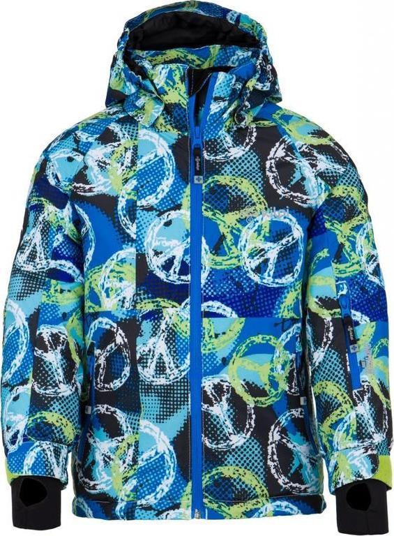 Chlapecká zimní bunda KILPI SEMERU-JB Bílá Barva: Bílá, Velikost: 158