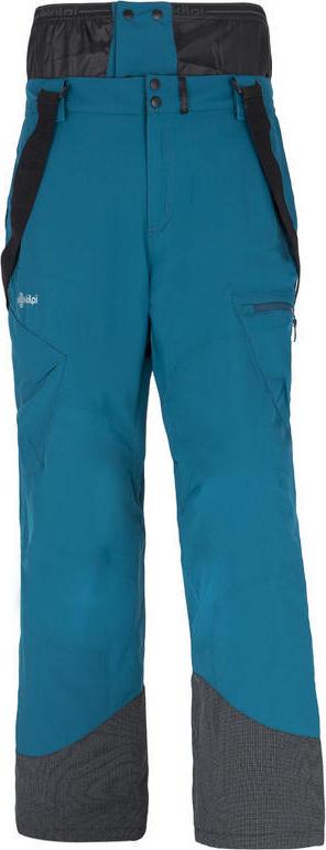 Pánské lyžařské kalhoty KILPI TER-M Modrá Barva: Modrá, Velikost: 3XL