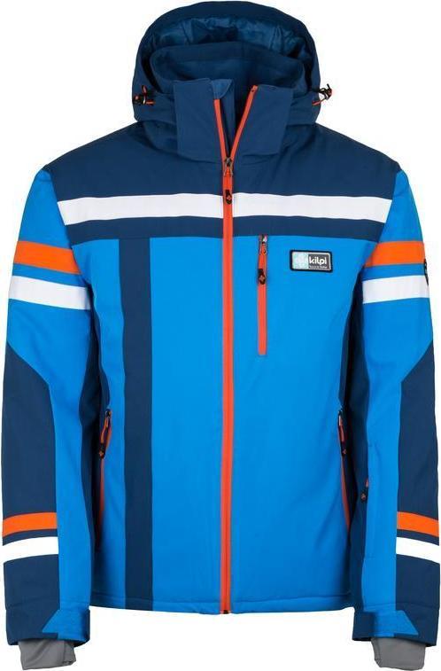 Pánská lyžařská bunda KILPI TITAN-M Modrá Barva: Modrá, Velikost: 3XL