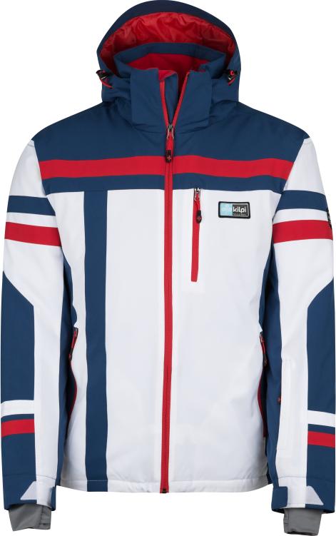 Pánská lyžařská bunda KILPI TITAN-M Bílá Barva: Bílá, Velikost: 3XL