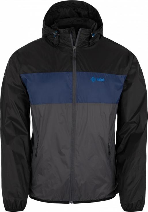 Pánská bunda KILPI AHORN-M Tmavě šedá Barva: Šedá, Velikost: XL