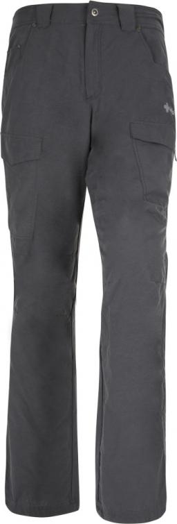 Pánské kalhoty KILPI TRAVELLER-M tmavě šedá Barva: Šedá, Velikost: L