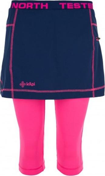Dámská elastická sukně KILPI MALAWI-W Tmavě modrá Barva: Modrá, Velikost: 38