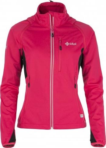 Dámská technická softshelová bunda KILPI TRANSFORMER-W Růžová Barva: Růžová, Velikost: 44