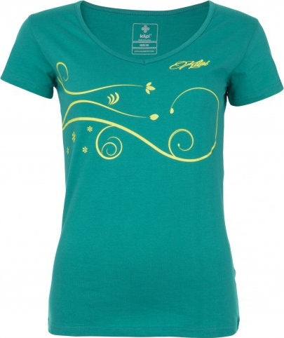 Dámské tričko KILPI MONCAYO-W modrá Barva: Modrá, Velikost: 36