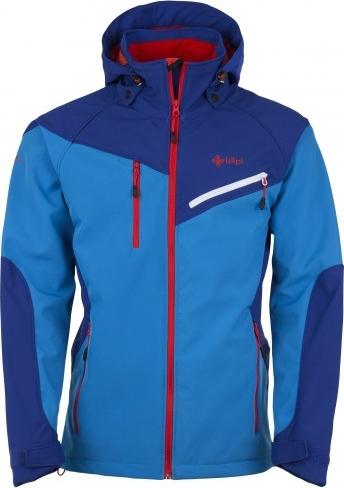 Pánská softshellová bunda KILPI AZON Modrá Barva: Modrá, Velikost: 3XL