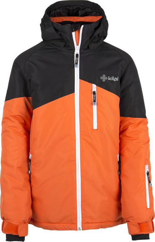 Chlapecká lyžařská bunda KILPI OLIVER-JB Oranžová Barva: Oranžová, Velikost: 158
