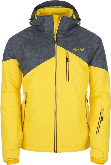 Pánská lyžařská bunda KILPI OLIVER světle šedá Barva: Šedá, Velikost: XXL