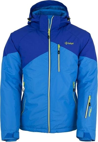 Pánská lyžařská bunda KILPI OLIVER modrá Barva: Modrá, Velikost: XXL