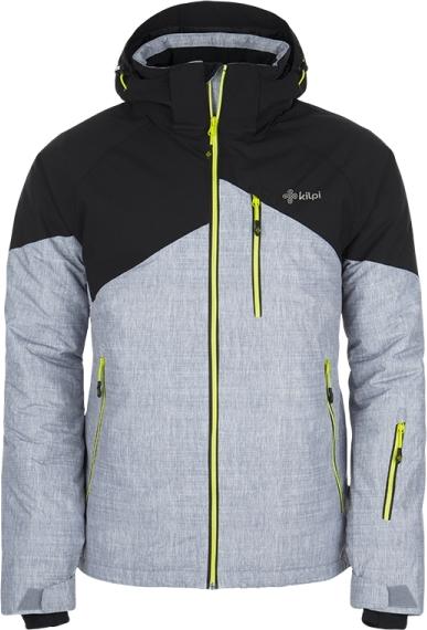 Pánská lyžařská bunda KILPI OLIVER černá Barva: Černá, Velikost: 3XL