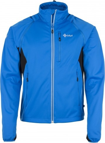 Pánská technická softshelová bunda KILPI TRANSFORMER-M Modrá Barva: Modrá, Velikost: M