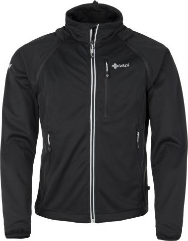 Pánská technická softshelová bunda KILPI TRANSFORMER-M černá Barva: Černá, Velikost: M