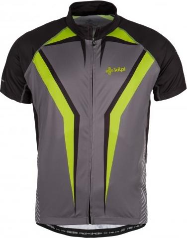 Pánský cyklistický dres KILPI CHAMPION-M tmavě šedá Barva: Šedá, Velikost: S