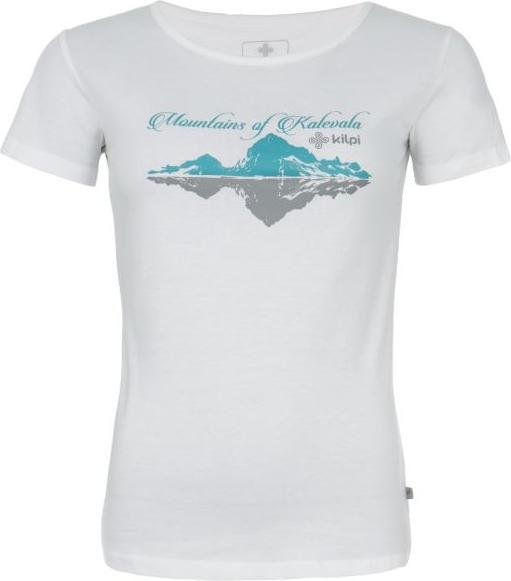 Dámské tričko KILPI TARN-W bílá Barva: Bílá, Velikost: 46