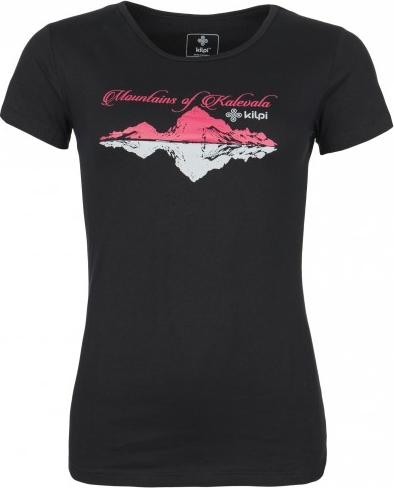 Dámské tričko KILPI TARN-W černá Barva: Černá, Velikost: 34