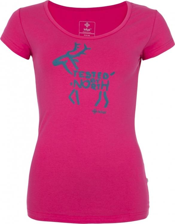Dámské tričko KILPI PURACE-W růžová Barva: Růžová, Velikost: 46